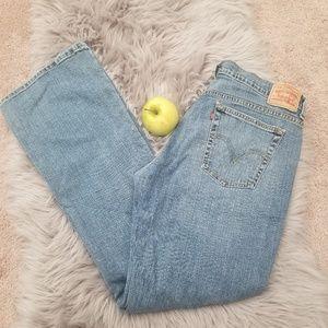 Levi's,  Women's  jeans,  Size 14L.